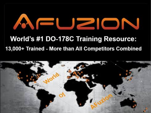 AFuzion DO-178C Training Four Courses Fall 2017