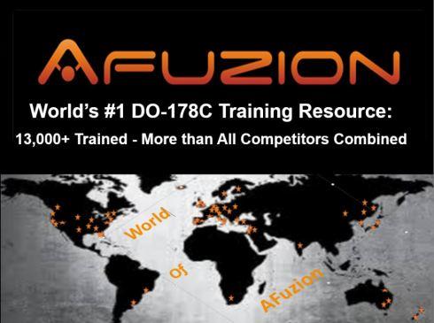 AFuzion DO-178C Training Four Courses Fall 2017