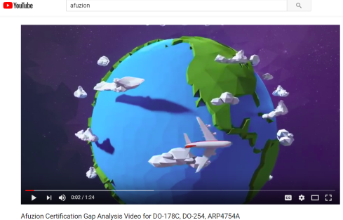 AFuzion 1-Minute Video: Aviation Gap Analysis